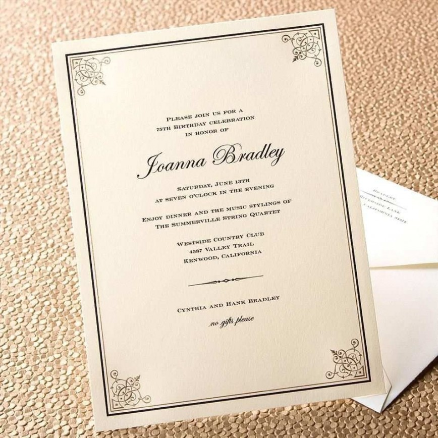 003 Top Free Busines Invitation Template For Word Highest Quality 868