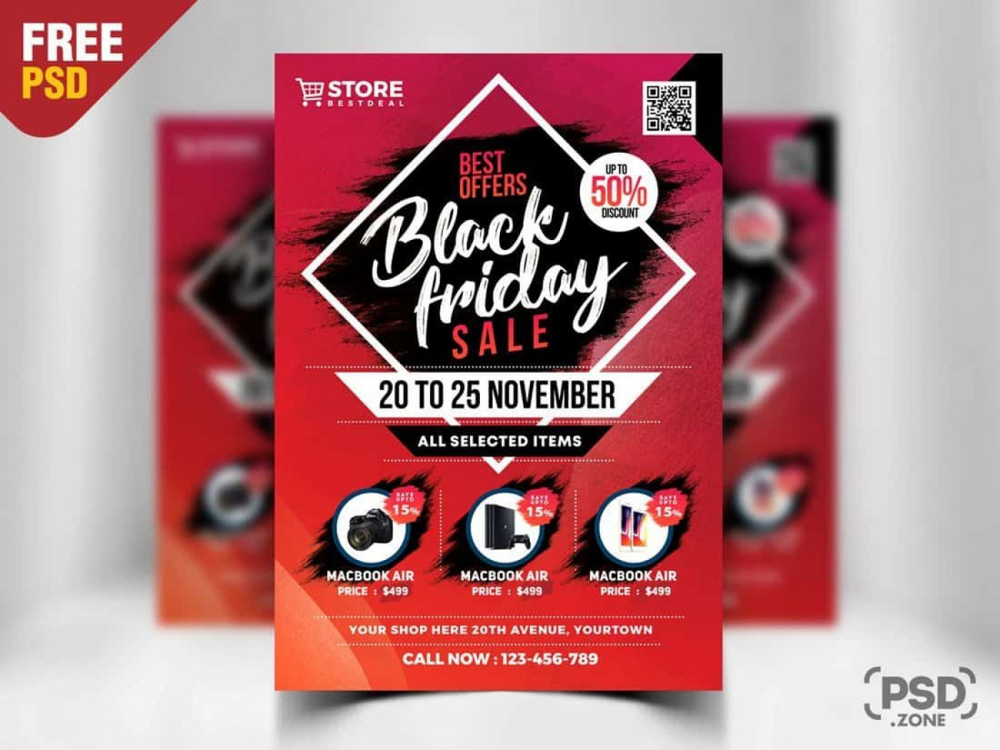 003 Top Free Flyer Design Template High Def  Download Psd Simple Uk1400