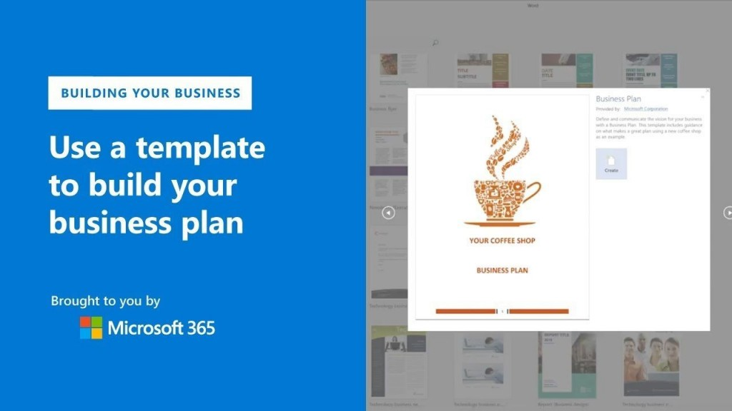 003 Top Microsoft Word Busines Plan Template Inspiration  2010 2007Large