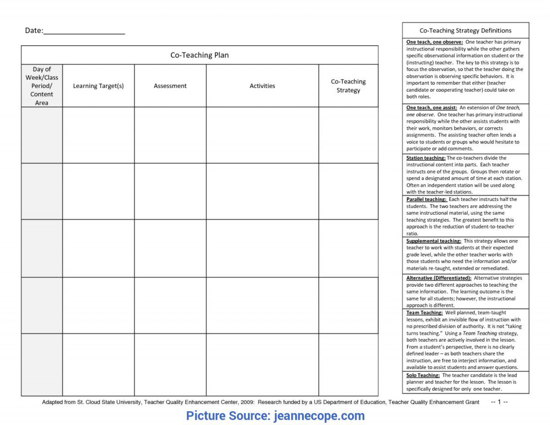 003 Top One Day Lesson Plan Template Sample  Example Format1920