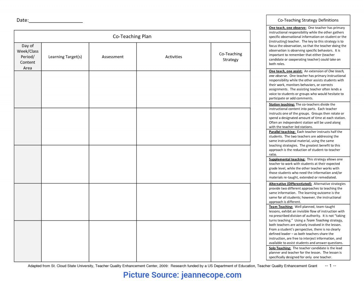 003 Top One Day Lesson Plan Template Sample  Example FormatFull