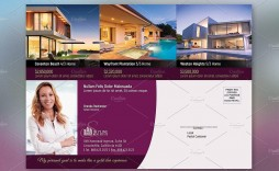 003 Top Real Estate Postcard Template Picture  Templates Design For Photoshop Commercial