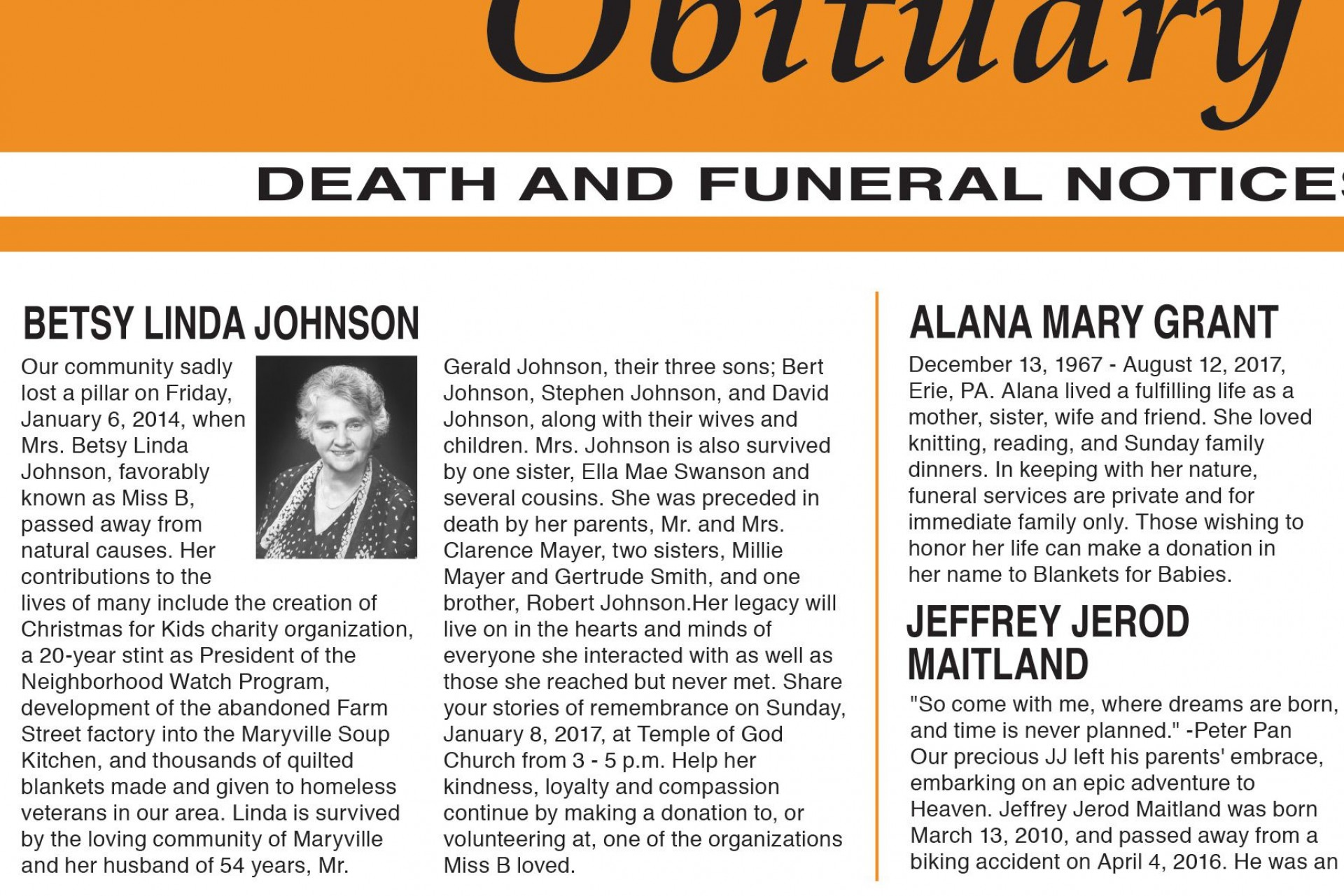 003 Top Write Your Own Obituary Template Concept 1920