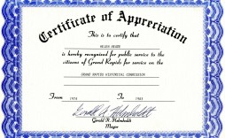 003 Unbelievable Certificate Of Appreciation Template Free Highest Clarity  Microsoft Word Download Publisher Editable