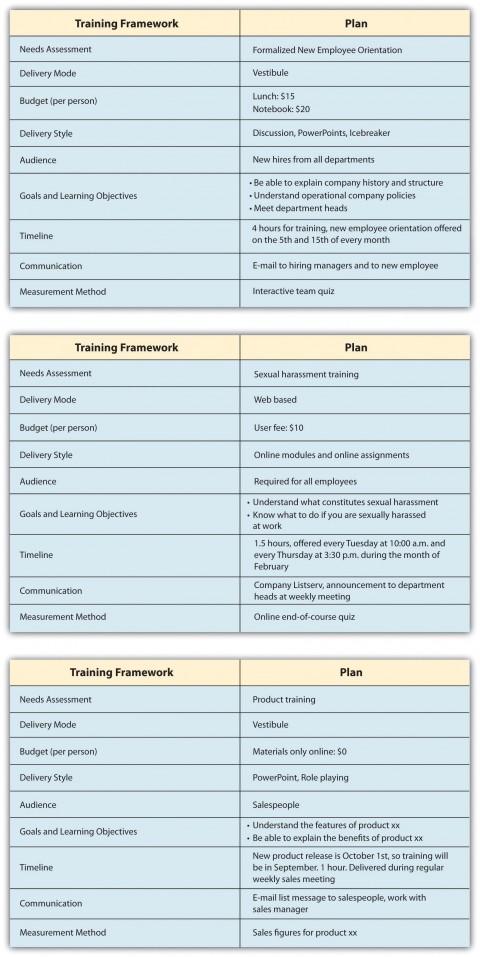 003 Unbelievable Employee Development Plan Example Sample  Workforce Personal Career480