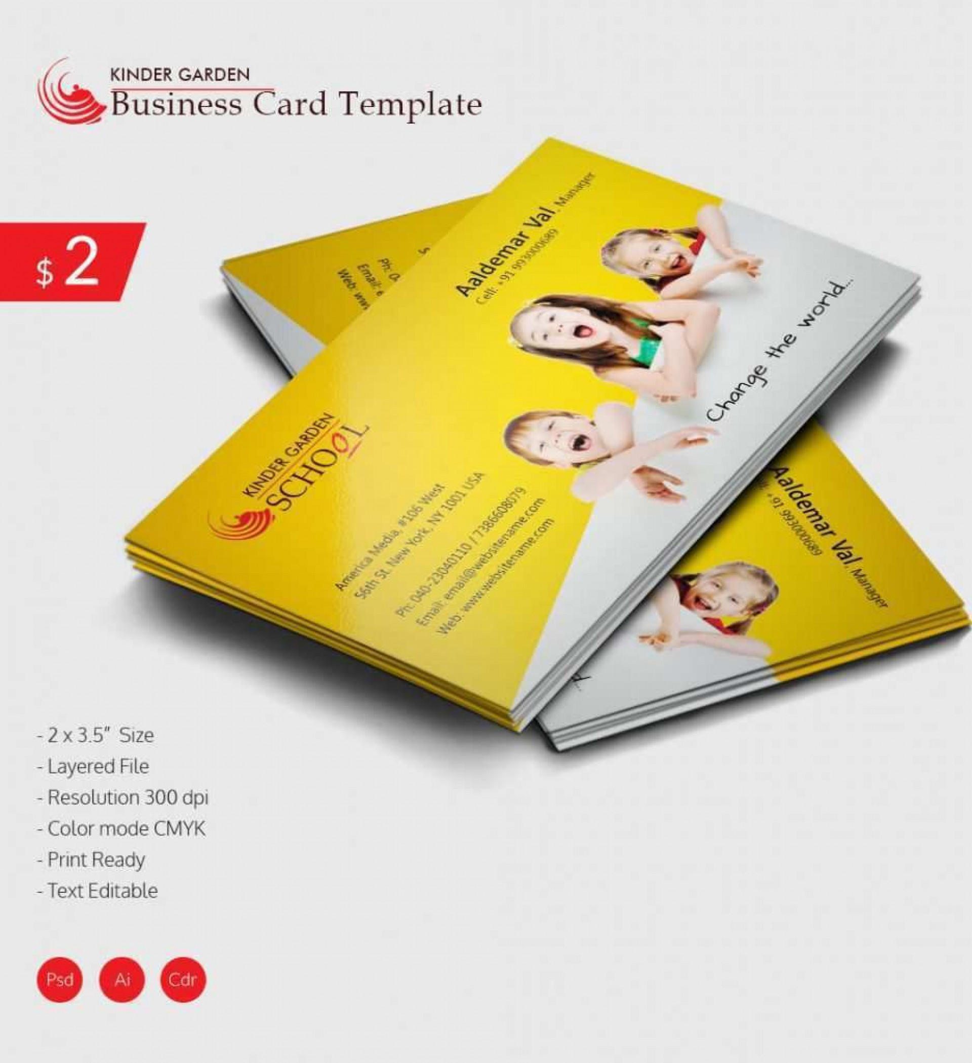 003 Unbelievable Free Blank Busines Card Template Photoshop Design  Download Psd1920
