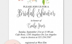 003 Unbelievable Free Bridal Shower Invite Template Idea  Templates Invitation To Print Online Wedding For Microsoft Word