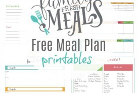 003 Unbelievable Meal Plan Printable Pdf Photo  Worksheet Downloadable Template Sheet