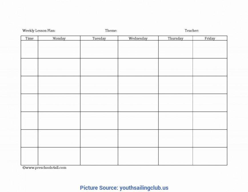 003 Unbelievable Preschool Lesson Plan Template Image  Weekly Editable Free Word Pre K