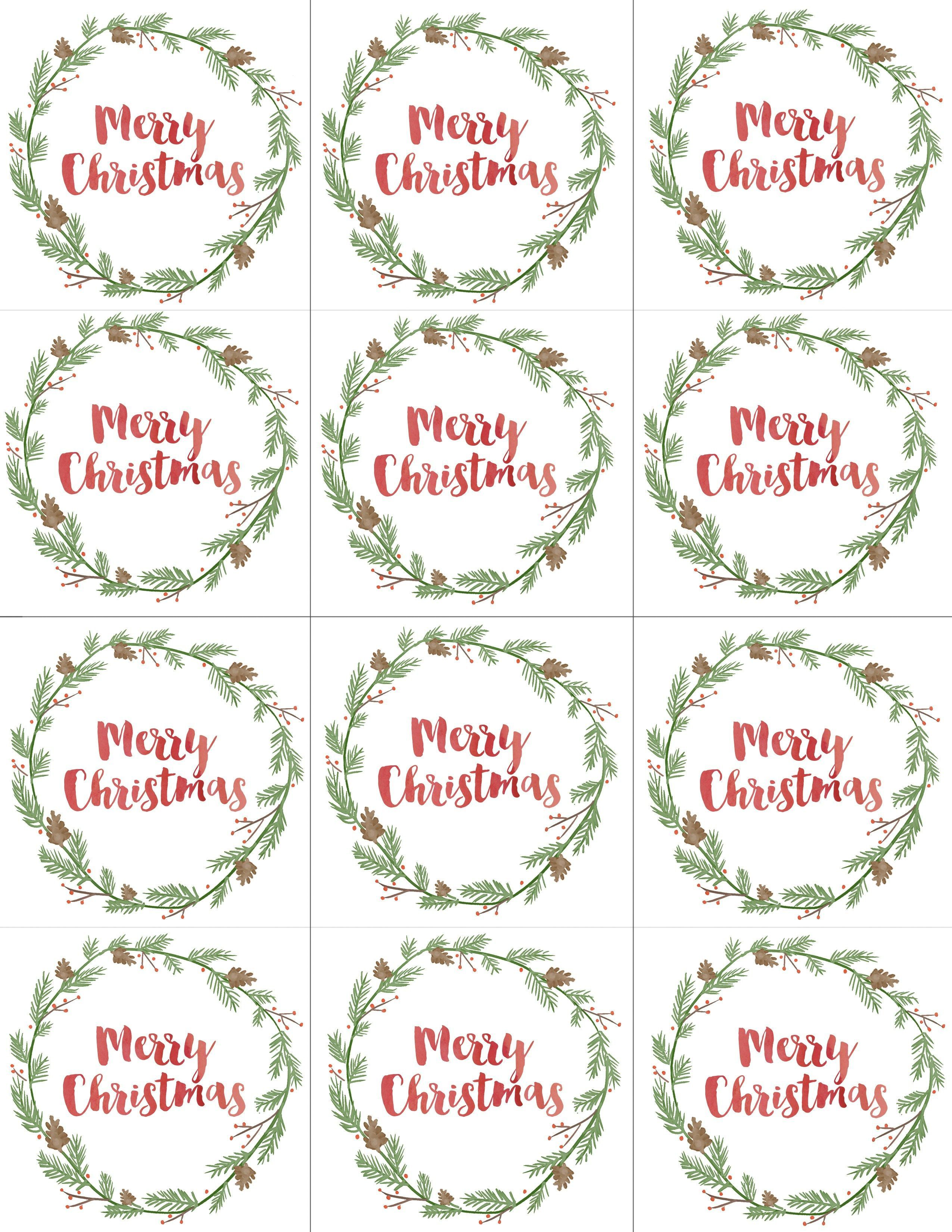 003 Unbelievable Printable Christma Gift Tag Template Concept  Templates Free Holiday For WordFull