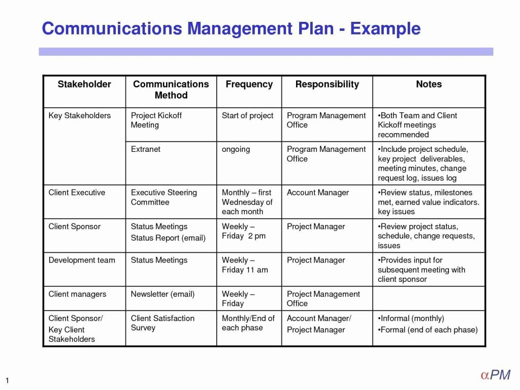 003 Unbelievable Project Management Plan Template Doc High Definition  ExampleLarge