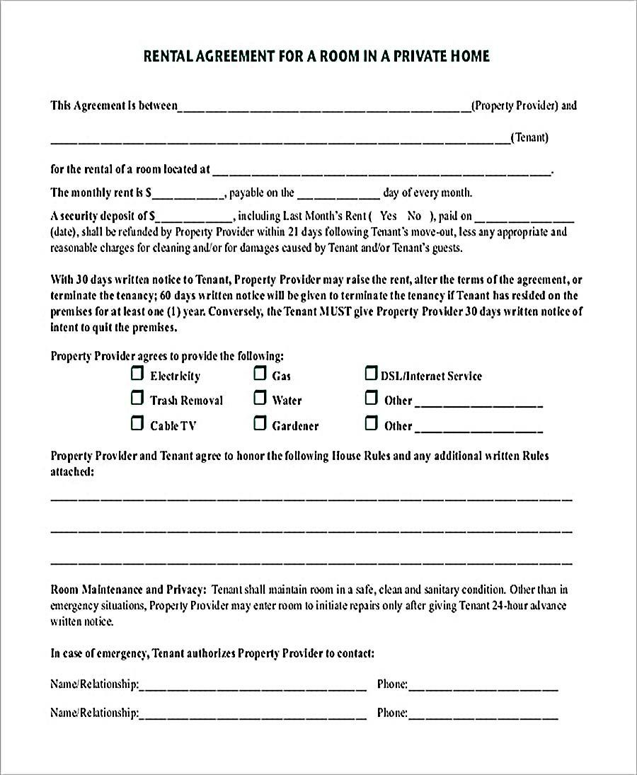 003 Unbelievable Rental House Contract Template Free Highest Quality  Agreement Form Property LeaseFull
