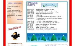 003 Unbelievable School Newsletter Template Word Highest Quality  Free Classroom For Microsoft