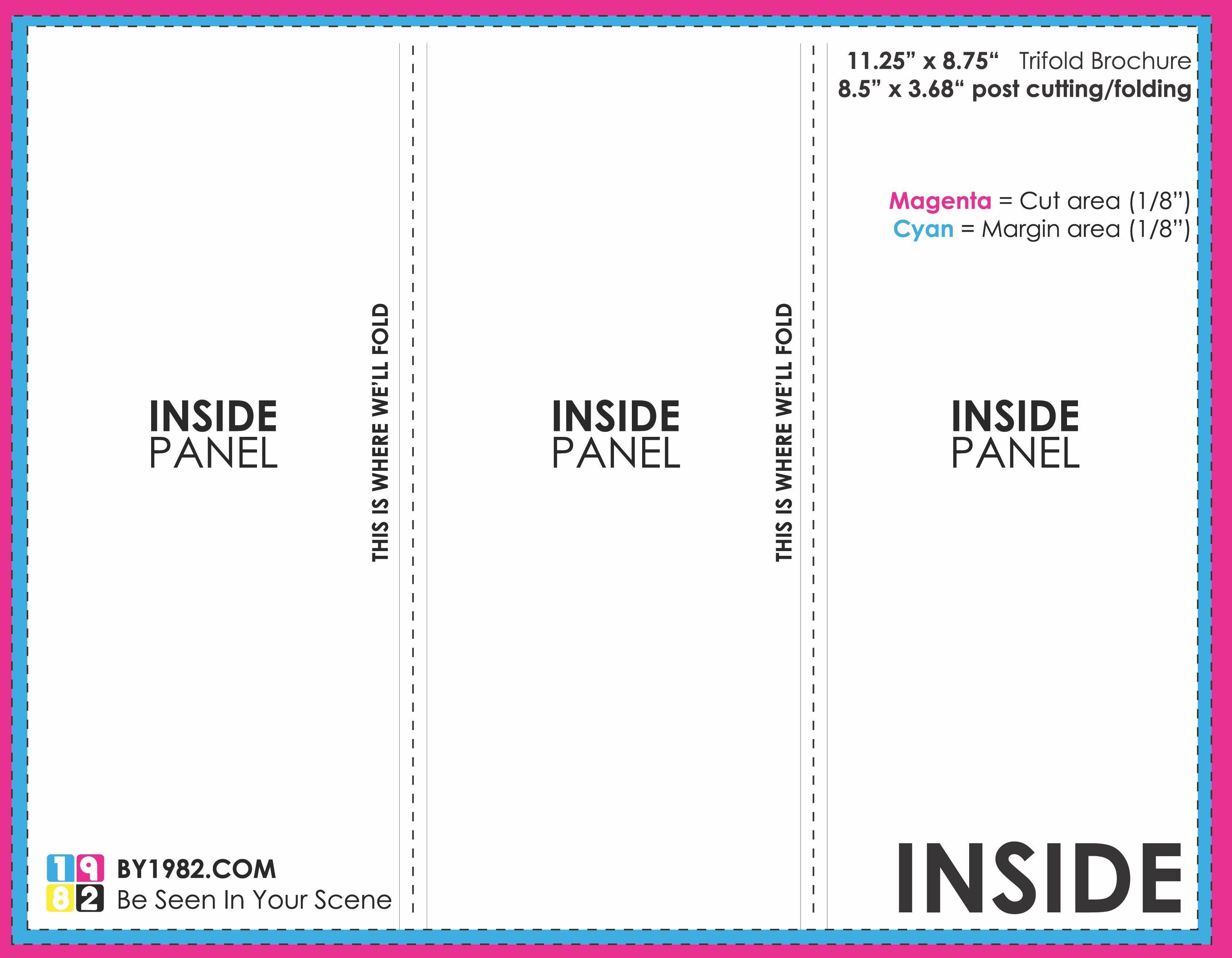 003 Unbelievable Three Fold Brochure Template Google Doc Photo  DocsFull