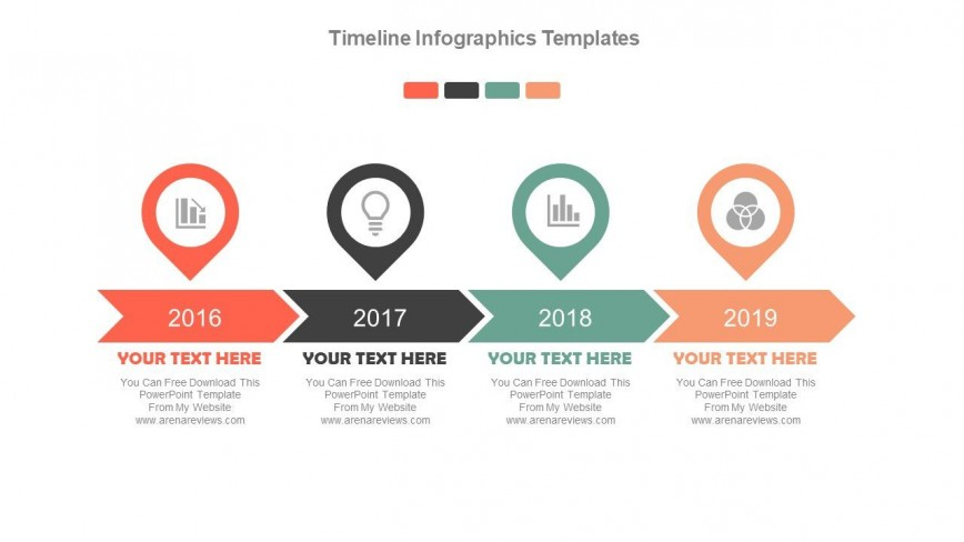 Timeline Template Ppt Free Download Addictionary