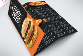 003 Unbelievable Tri Fold Menu Template Free Example  Tri-fold Restaurant Food Psd Wedding Brochure Cafe Download