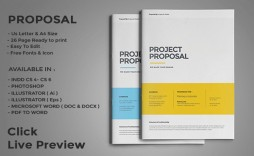 003 Unbelievable Web Design Proposal Template Indesign Inspiration