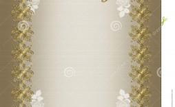 003 Unforgettable 50th Wedding Anniversary Invitation Card Sample Design  Wording