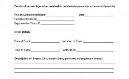 003 Unforgettable Accident Report Form Template Picture  Templates Free Ireland Hse