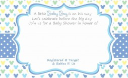 003 Unforgettable Baby Shower Place Card Template Free Highest Quality  Registry Advice Indian Invitation Download