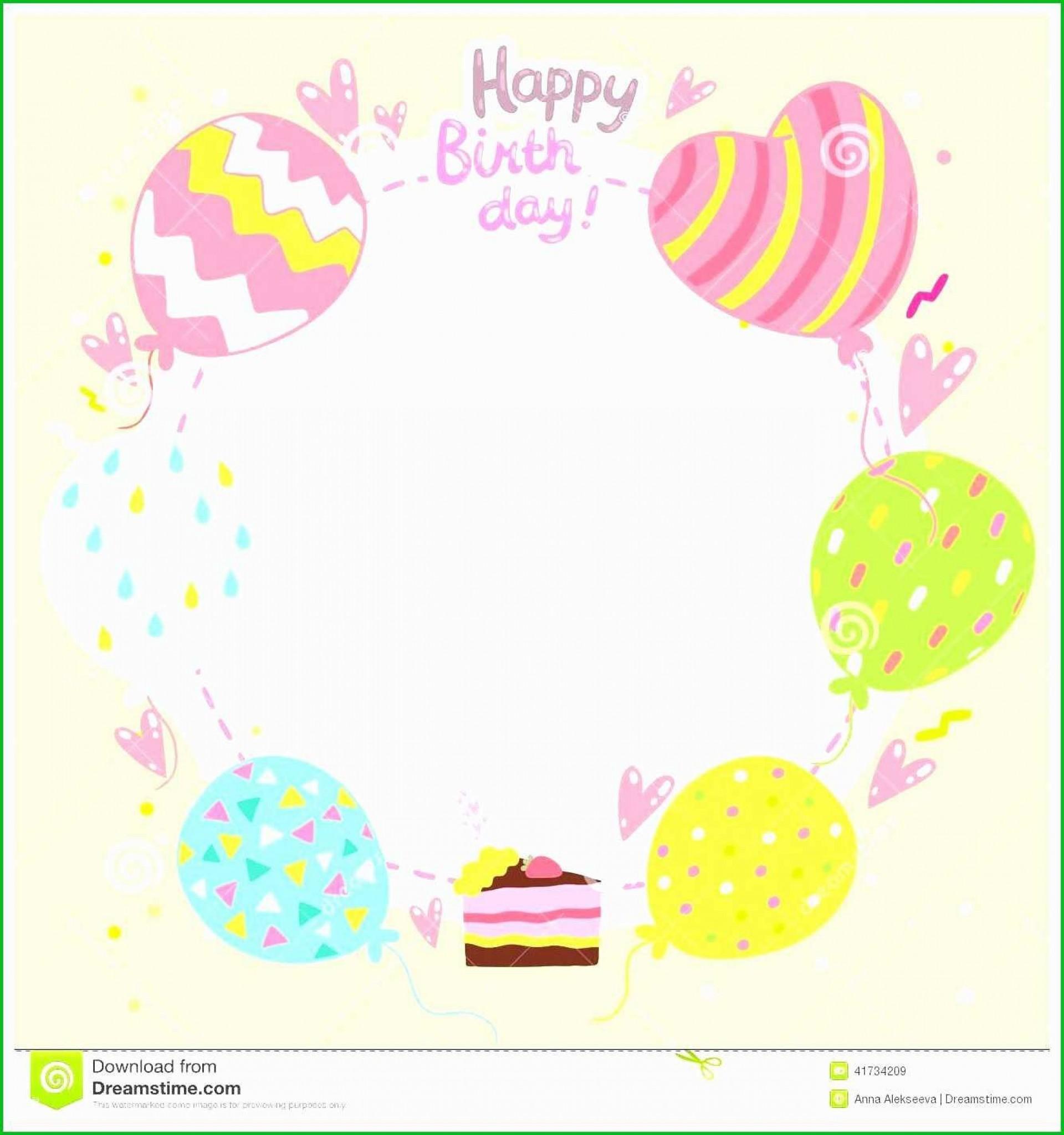 003 Unforgettable Birthday Card Template Free Photo  Invitation Photoshop Download Word1920