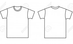 003 Unforgettable Blank Tee Shirt Template Highest Quality  T Design Pdf Free T-shirt Front And Back Download