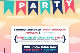 003 Unforgettable Block Party Flyer Template Concept  Free