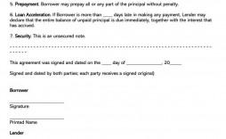003 Unforgettable Family Loan Agreement Template Pdf Uk Idea