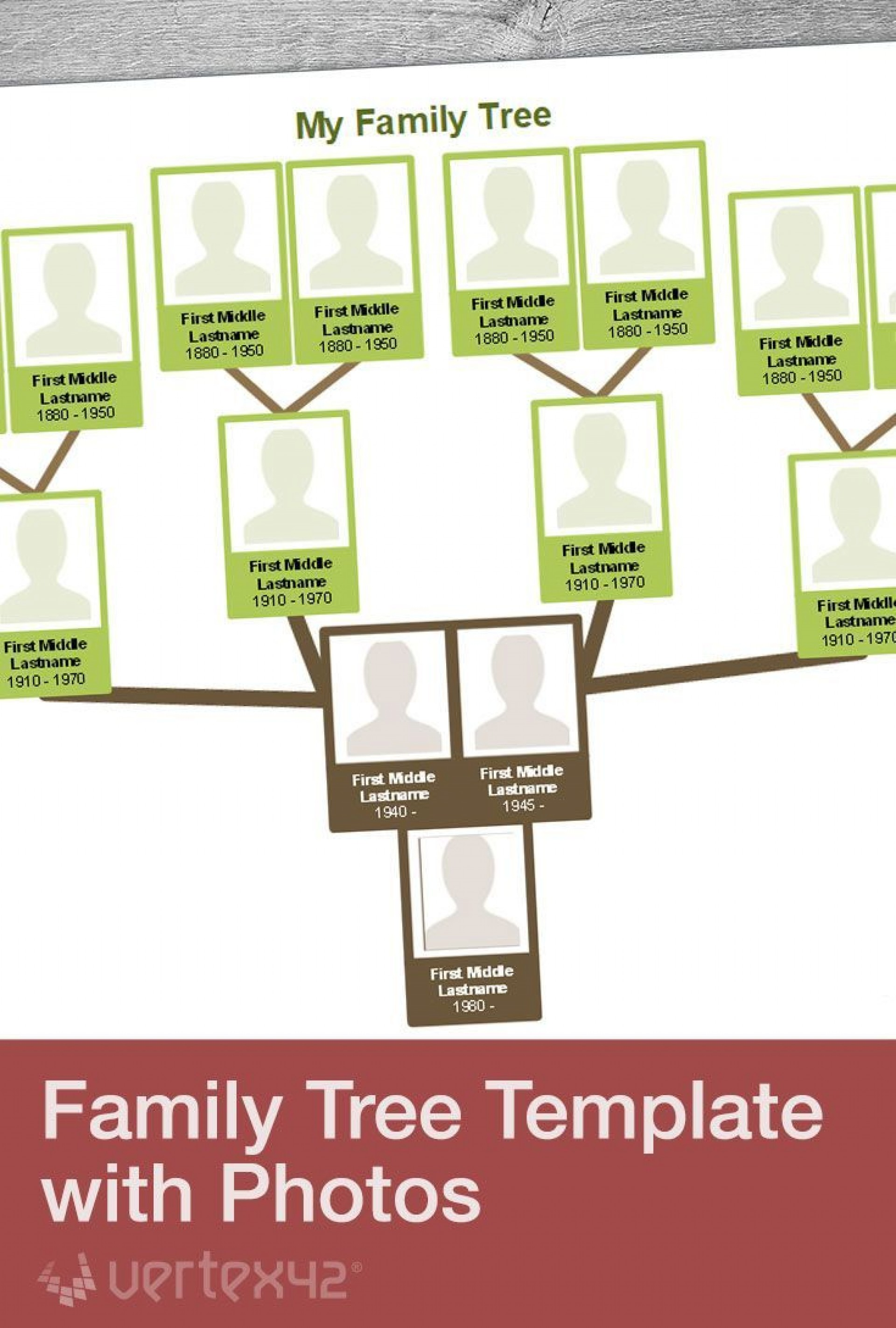 003 Unforgettable Family Tree Template Word Free Download Picture 1920