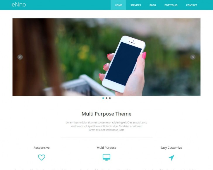 003 Unforgettable Free Bootstrap Website Template High Def  2020 Responsive Download For Busines Education728