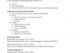 003 Unforgettable Free High School Resume Template Microsoft Word Inspiration