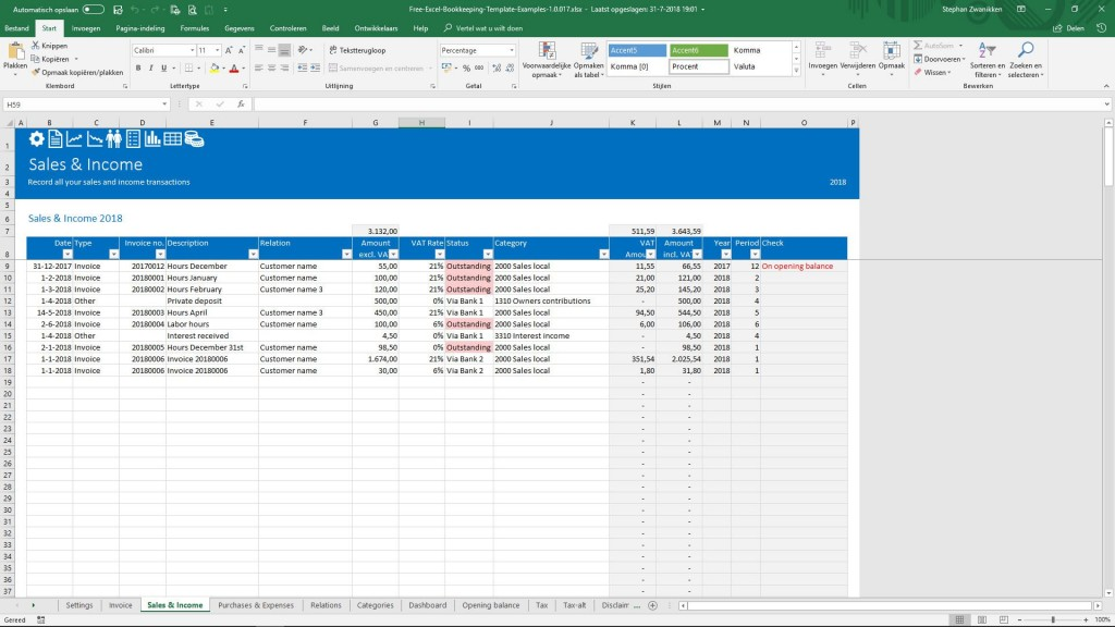 003 Unforgettable Microsoft Excel Accounting Template Download High Def Large