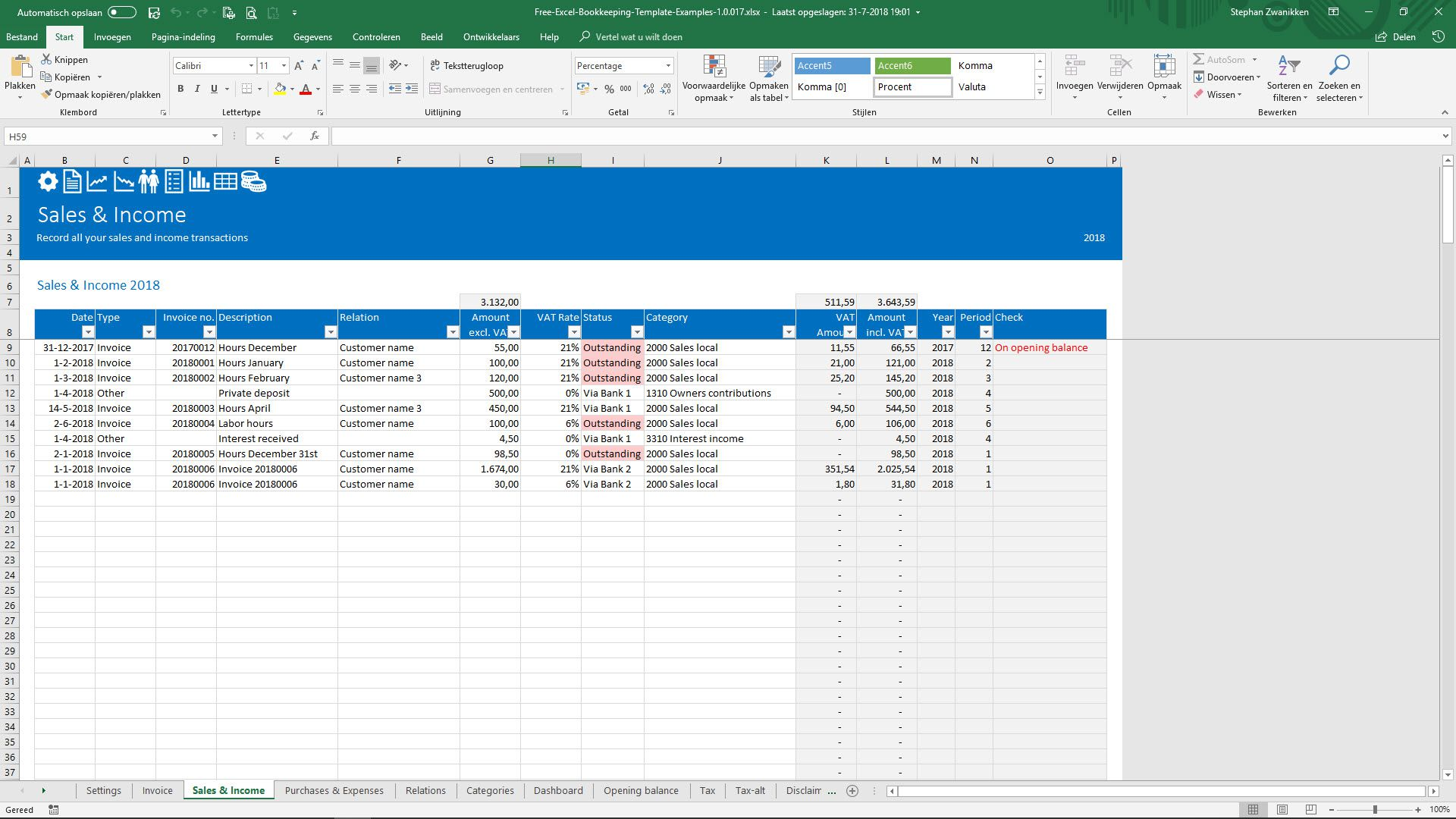 003 Unforgettable Microsoft Excel Accounting Template Download High Def Full