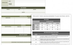003 Unforgettable Project Risk Management Plan Template Word High Def