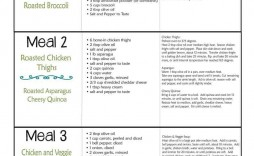 003 Unforgettable Weekly Meal Plan Example Image  Examples Keto One Week Template