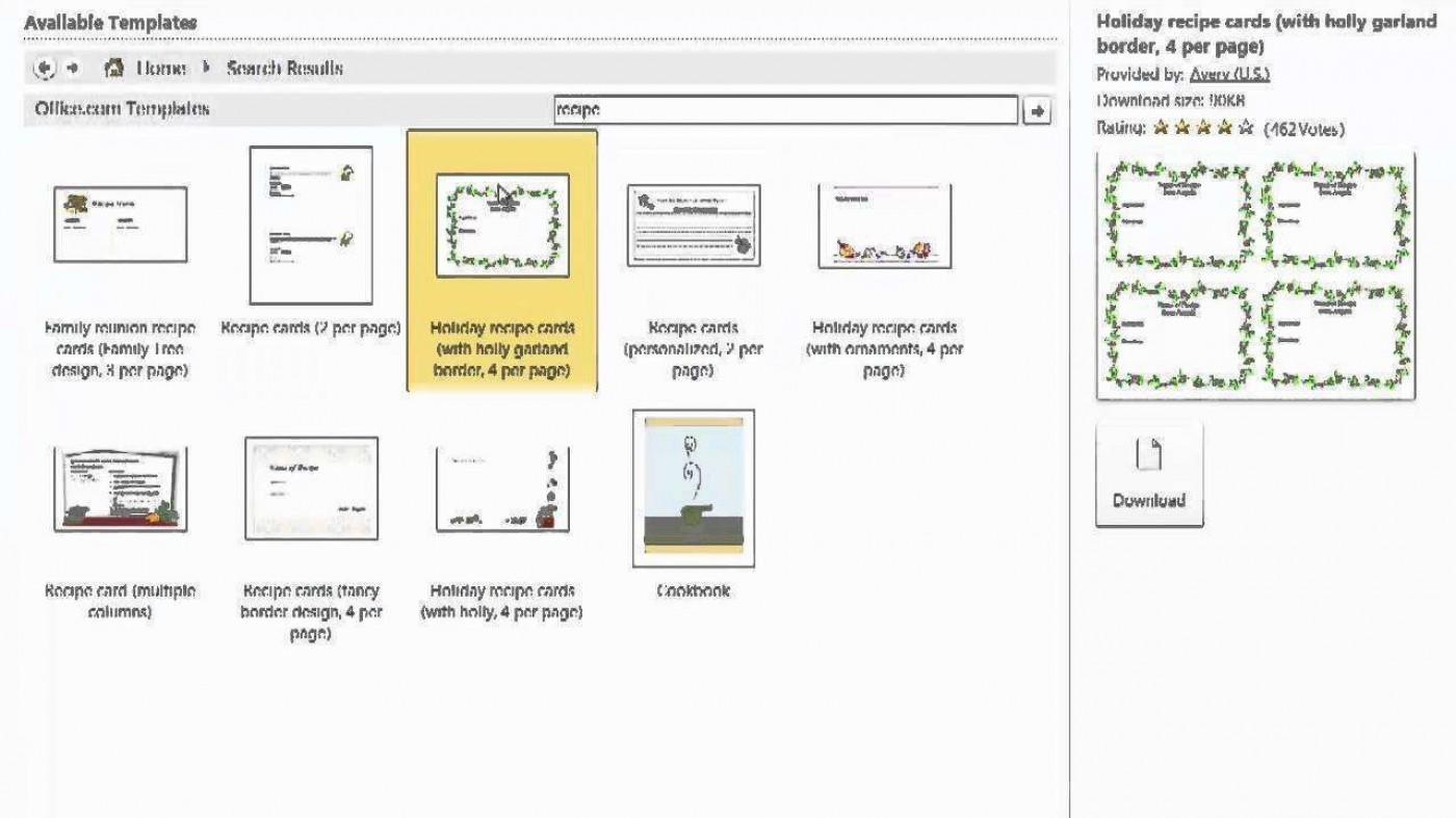 003 Unique 3 X 5 Recipe Card Template Microsoft Word Highest Clarity 1400