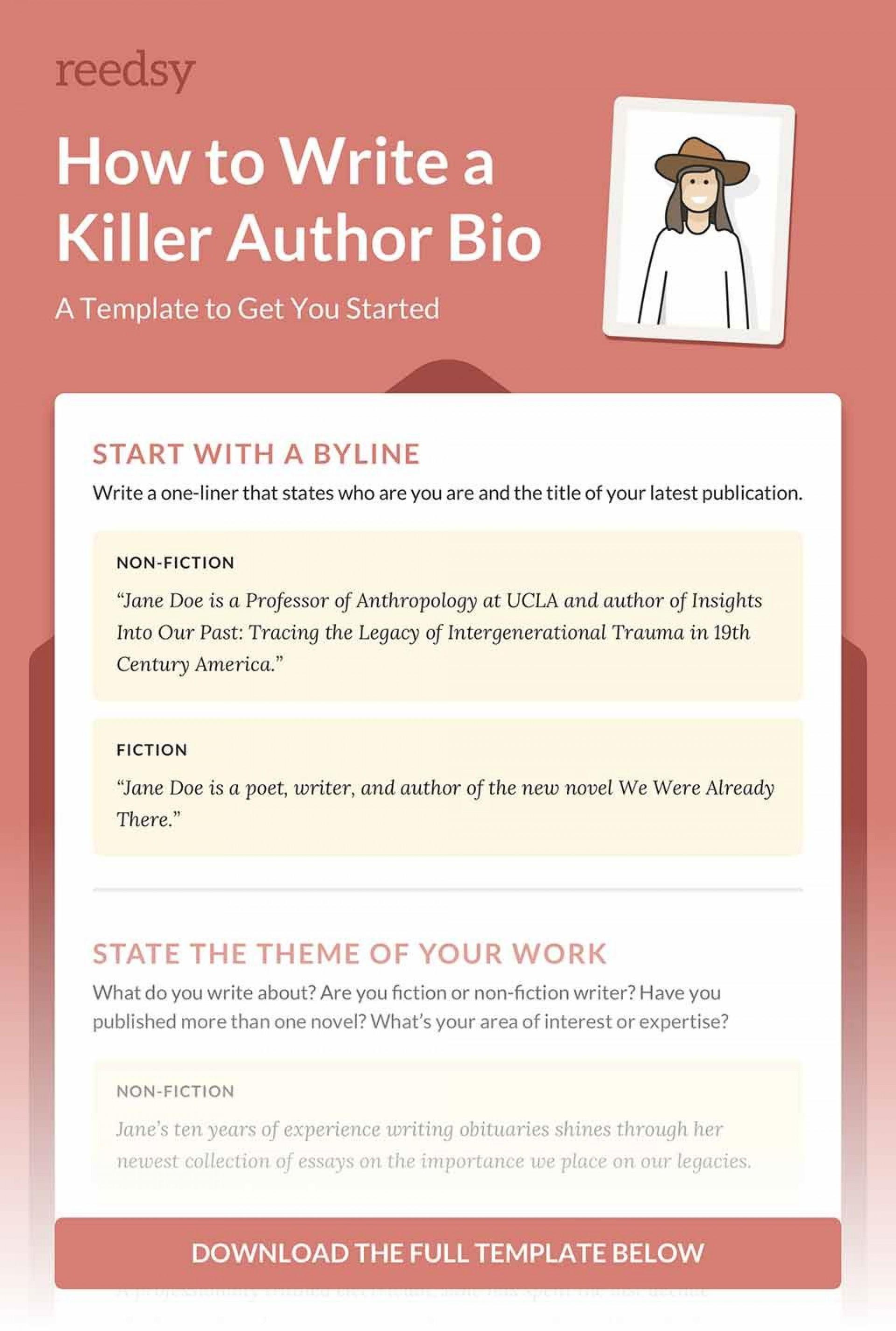 003 Unique About The Author Template Inspiration  Pdf All For Student1920