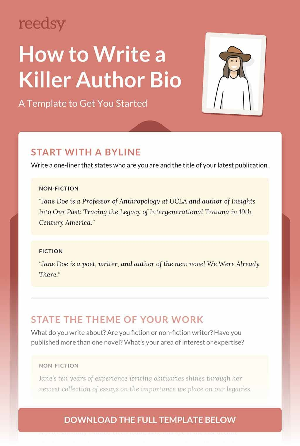 003 Unique About The Author Template Inspiration  Pdf All For StudentFull