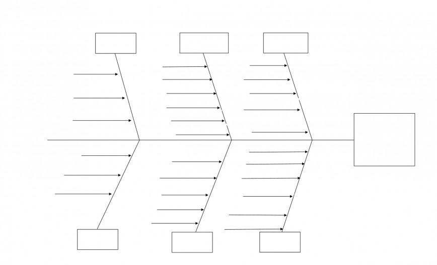 003 Unique Blank Fishbone Diagram Template Highest Quality  Downloadable Pdf
