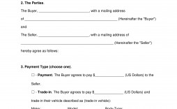 003 Unique Car Bill Of Sale Template Highest Quality  Ontario Free For Georgia Word