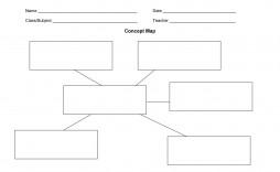 003 Unique Free Blank Concept Map Template Sample  Printable Nursing