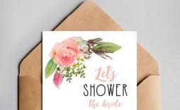 003 Unique Free Couple Shower Invitation Template Download Picture  Downloads
