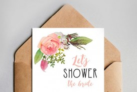 003 Unique Free Couple Shower Invitation Template Download Picture