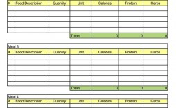 003 Unique Free Meal Planner Template For Weight Los Concept  Loss