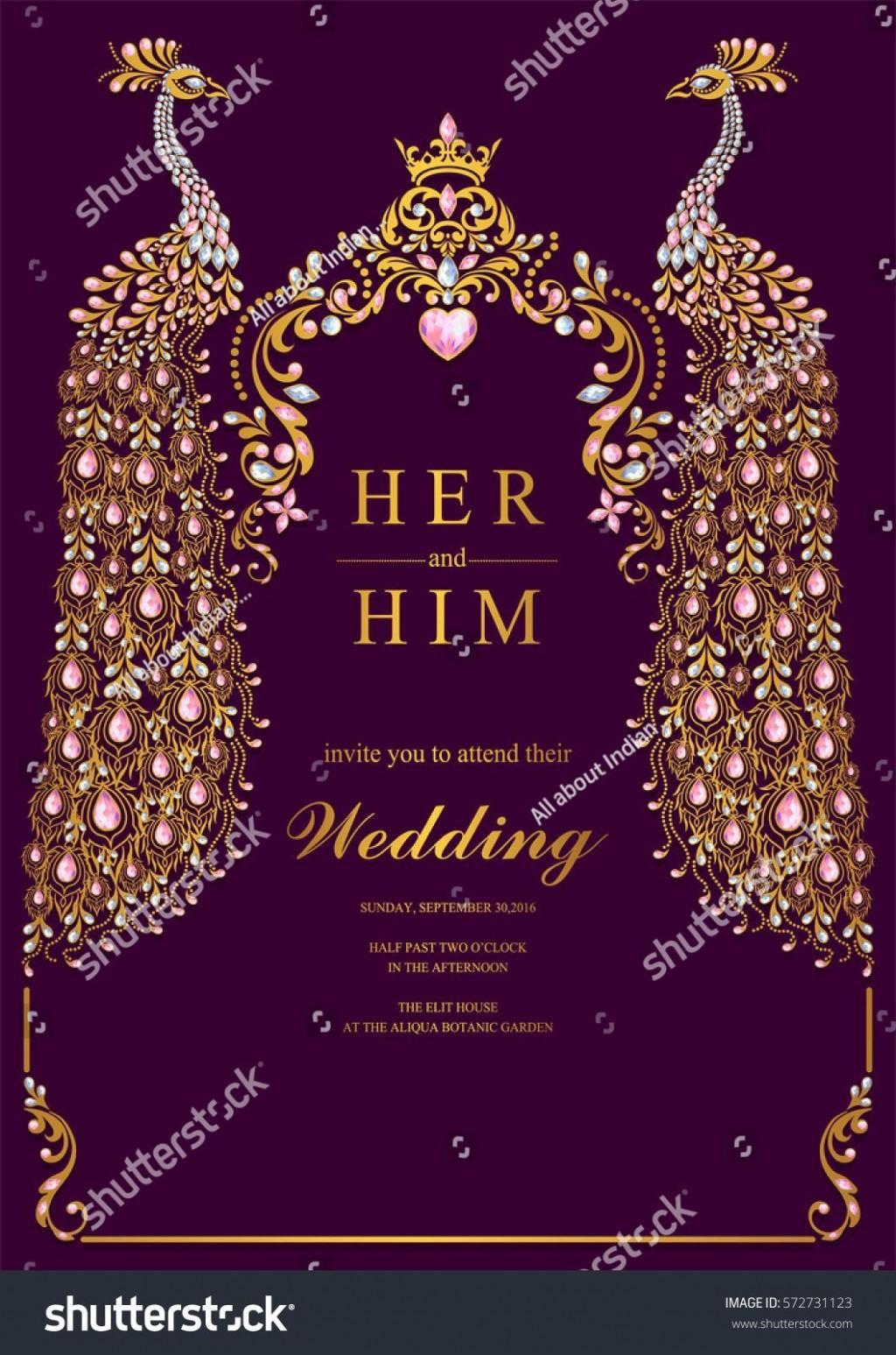 003 Unique Free Online Indian Invitation Template Image  Templates Engagement Card Maker WeddingLarge