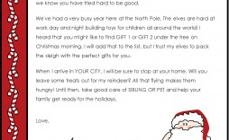 003 Unique Letter From Santa Template Highest Clarity  Free Printable Word Doc Uk