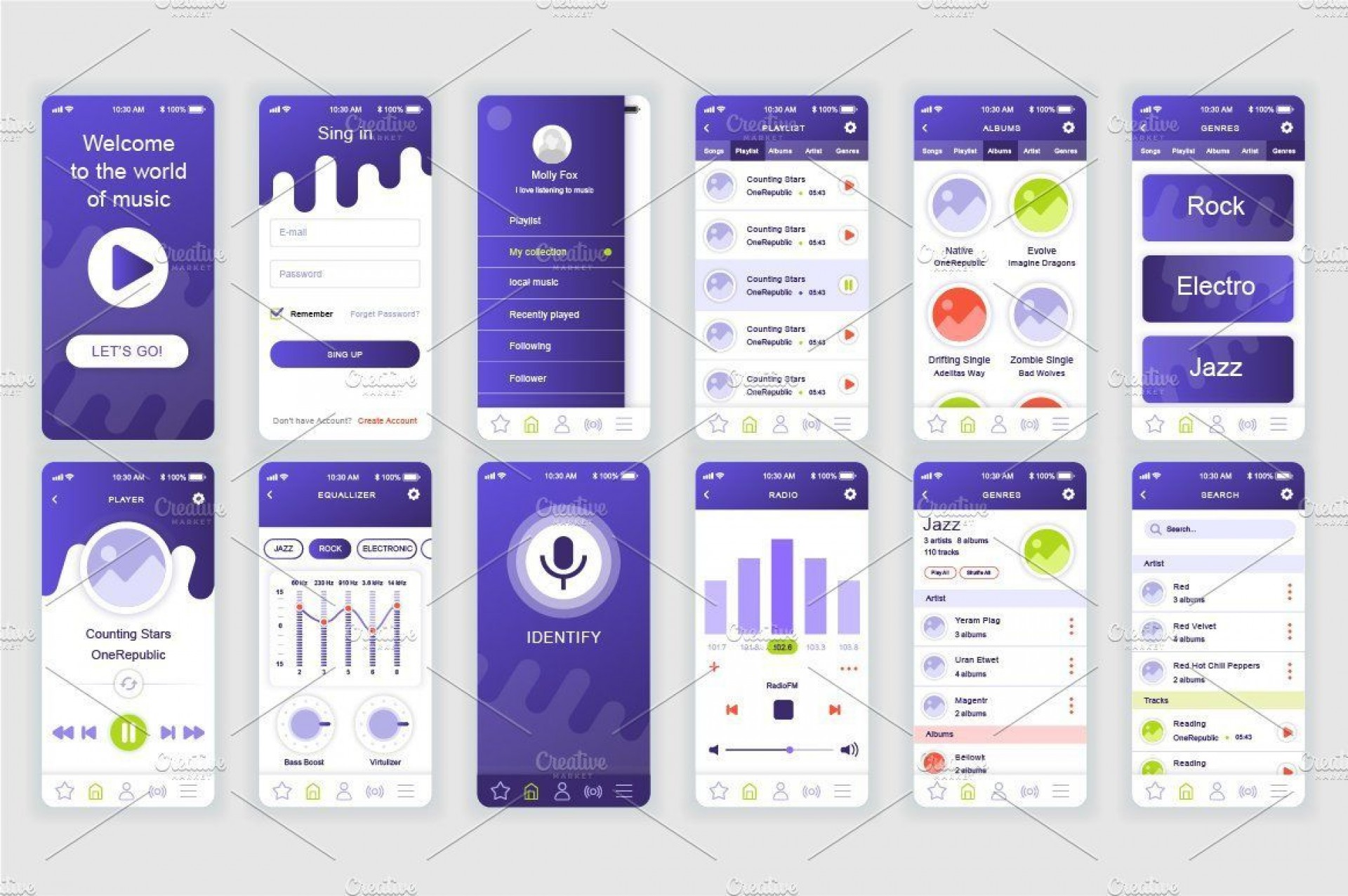 003 Unique Mobile App Design Template Inspiration  Templates Ui Free Online Android Psd1920