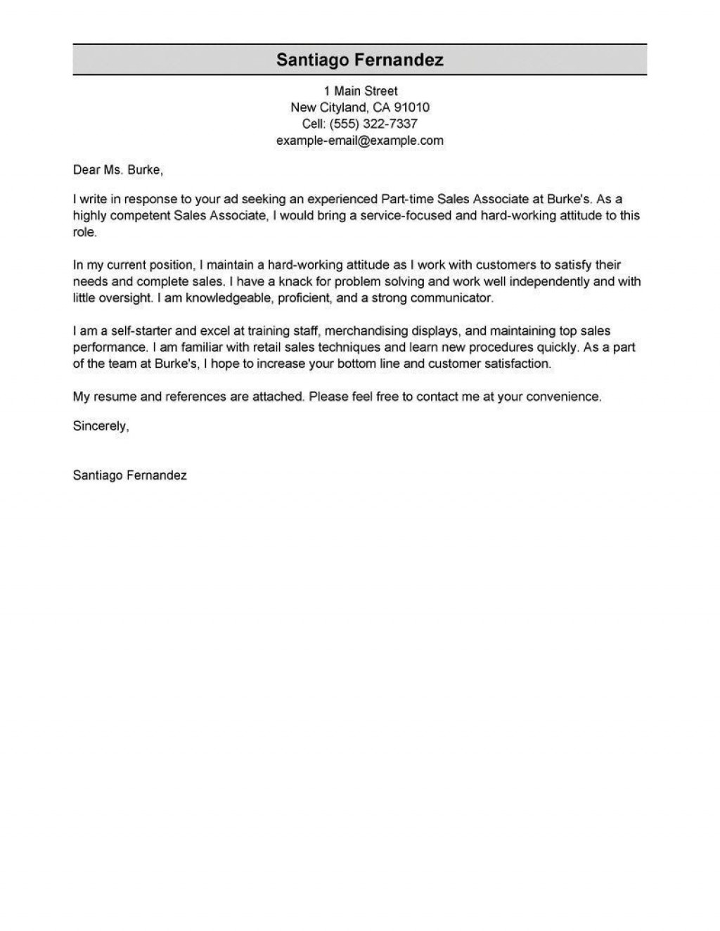 003 Unique Sale Cover Letter Template High Def  Account Manager Word RepLarge