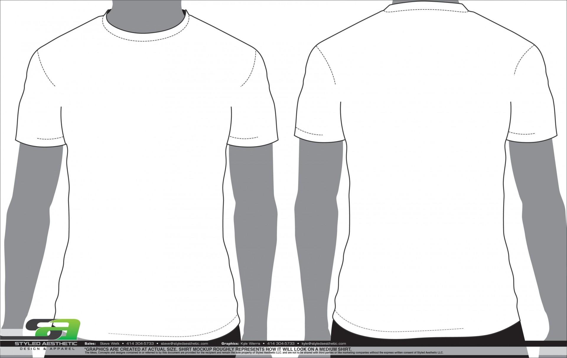 003 Unique T Shirt Design Template Ai Idea  Tee1920