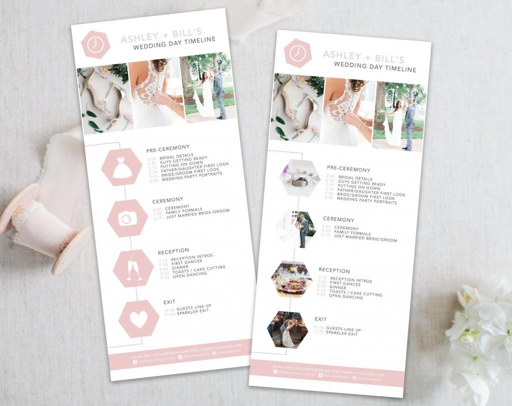 003 Unique Wedding Timeline Template Free Download Photo Large